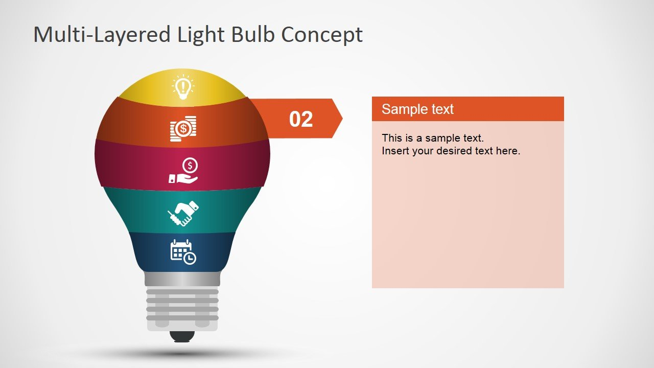 how to draw a light bulb in powerpoint