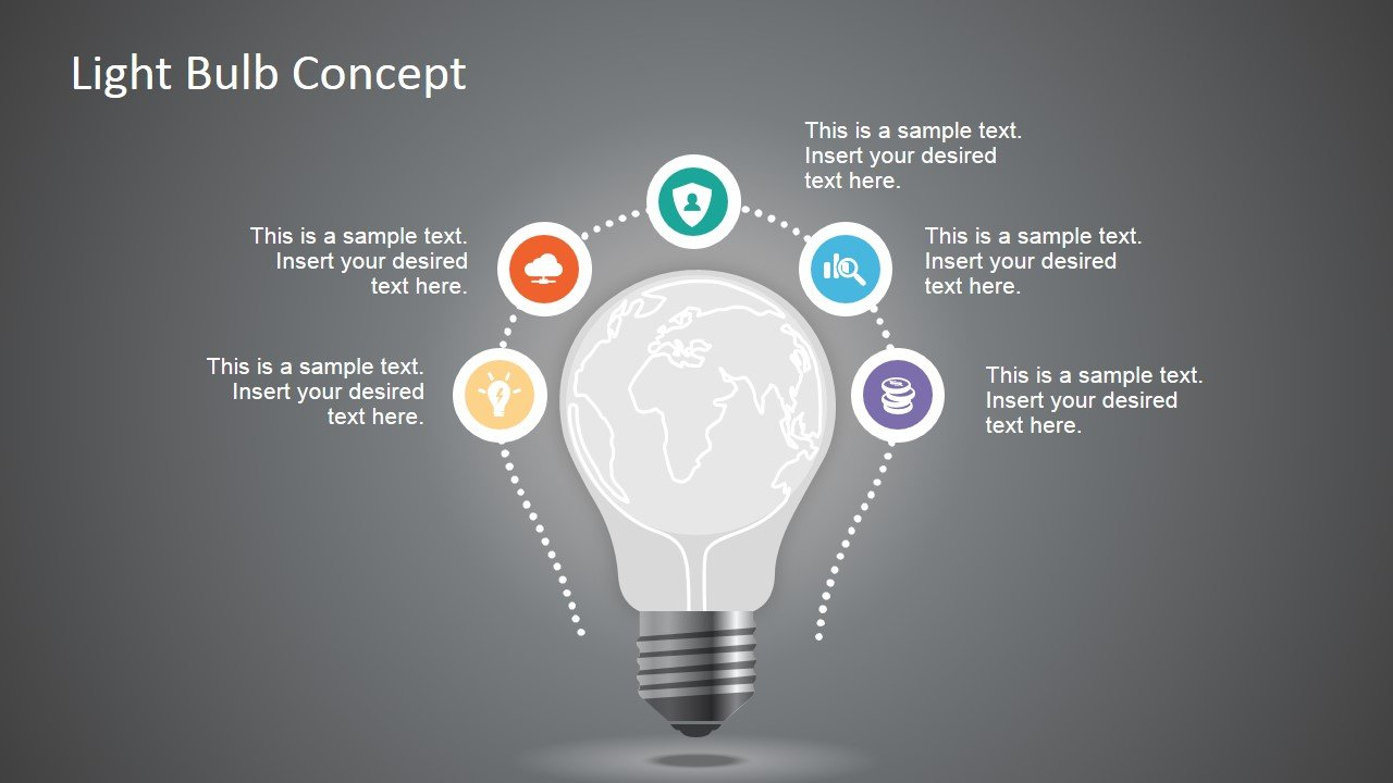 How to draw a light bulb in powerpoint light bulb new idea concept for powerpoint toneelgroepblik Image collections