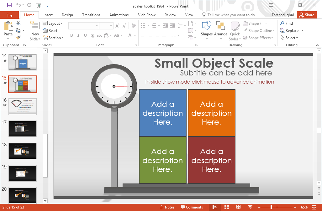 small-object-scale