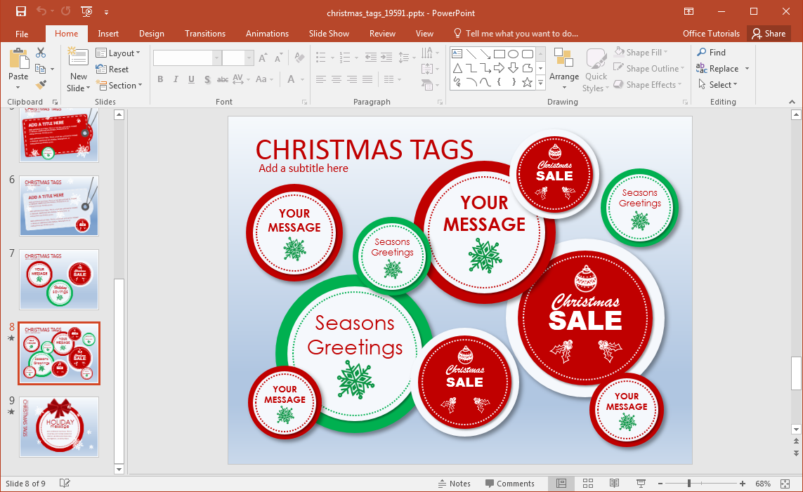 tags-for-christmas-sales