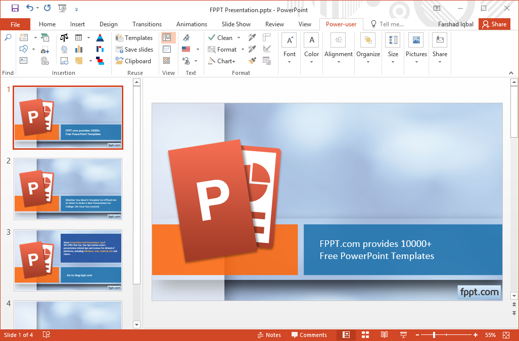 Make PowerPoint More Powerful With Power User Add-in