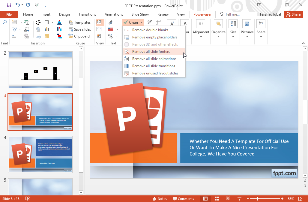 Make powerpoint more powerful with power user add in other options in this section enable you to reset your layout and to replace add and remove various slide elements toneelgroepblik Images