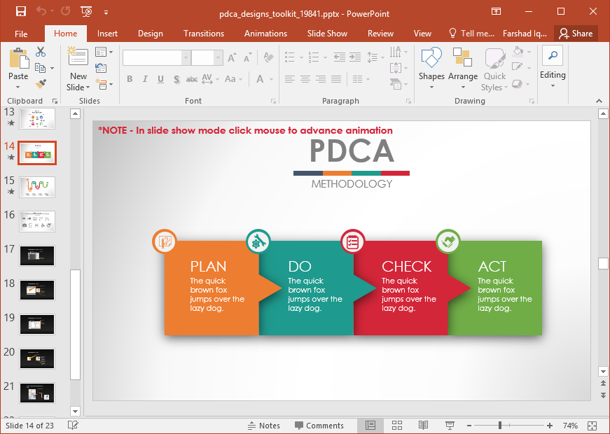 Free action plan template