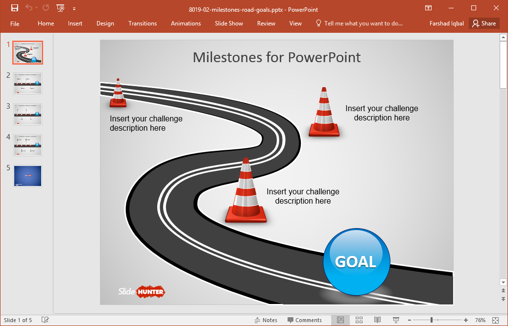 Best Roadmap Templates For PowerPoint - Roadmap timeline template