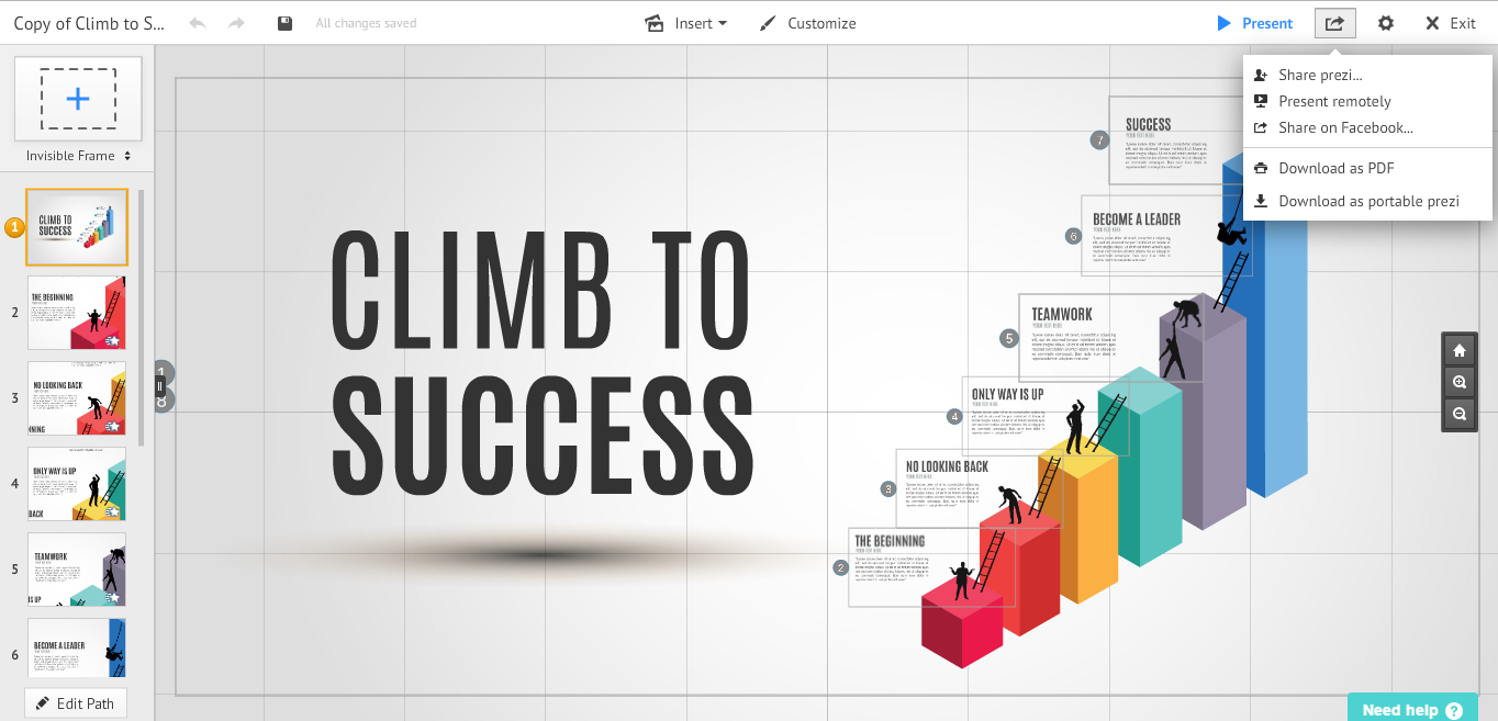 Prezi Business: Amazing Features for Making Effective Presentations