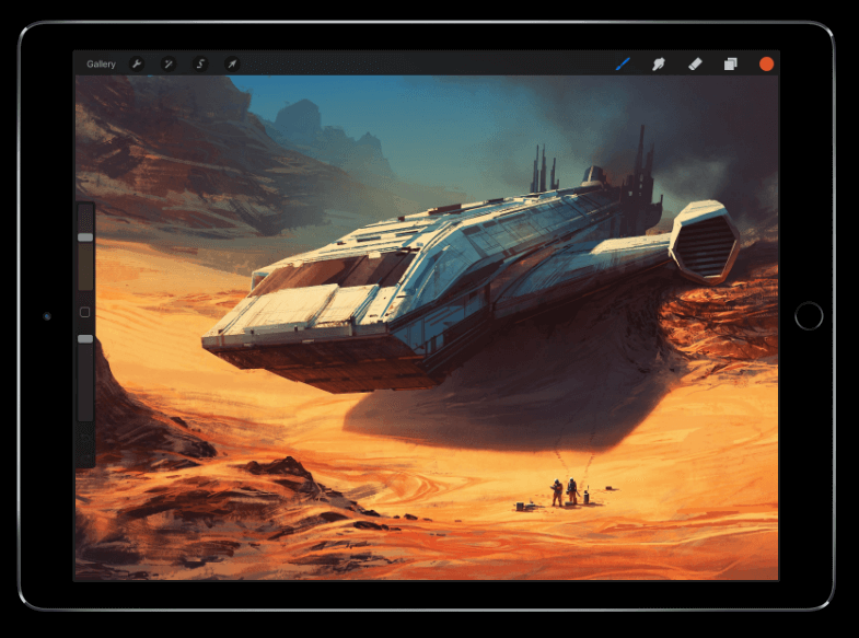 Procreate For Ipad The Most Advanced Drawing App Ever
