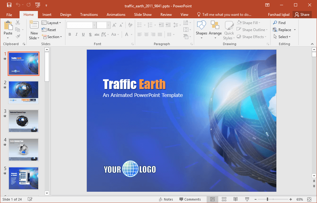 Best earth designs for powerpoint presentations animated space calculations powerpoint template toneelgroepblik Images