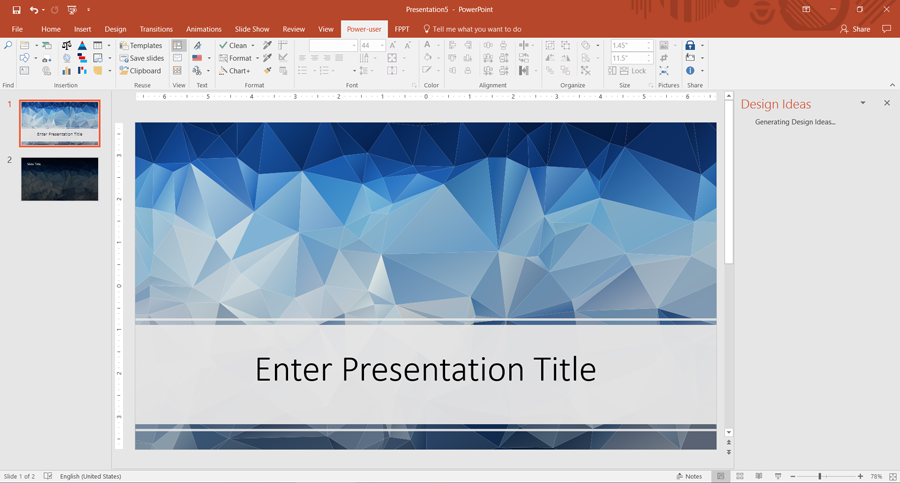 How to make a modern low poly powerpoint template quickly and for free low poly powerpoint template free download toneelgroepblik Image collections