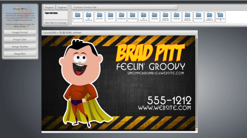 creator 7 easy to use logo maker business card design software