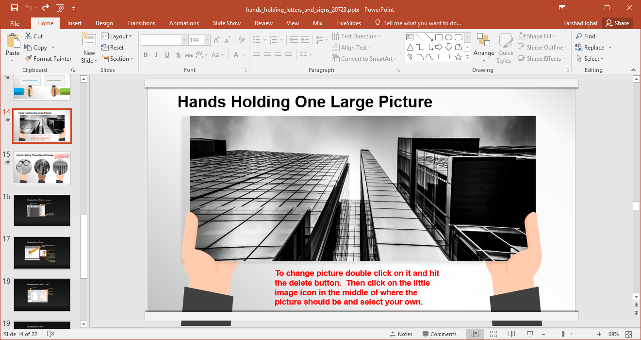 image layout with hands - FPPT