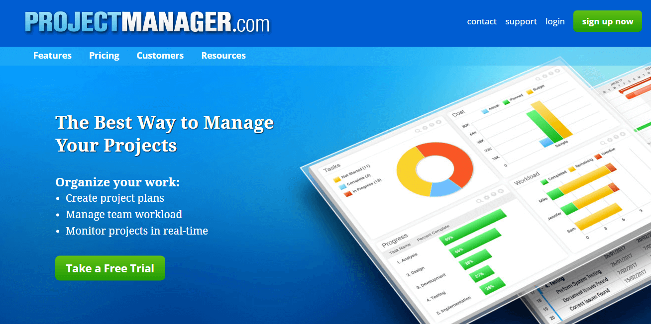 top 10 online project management software