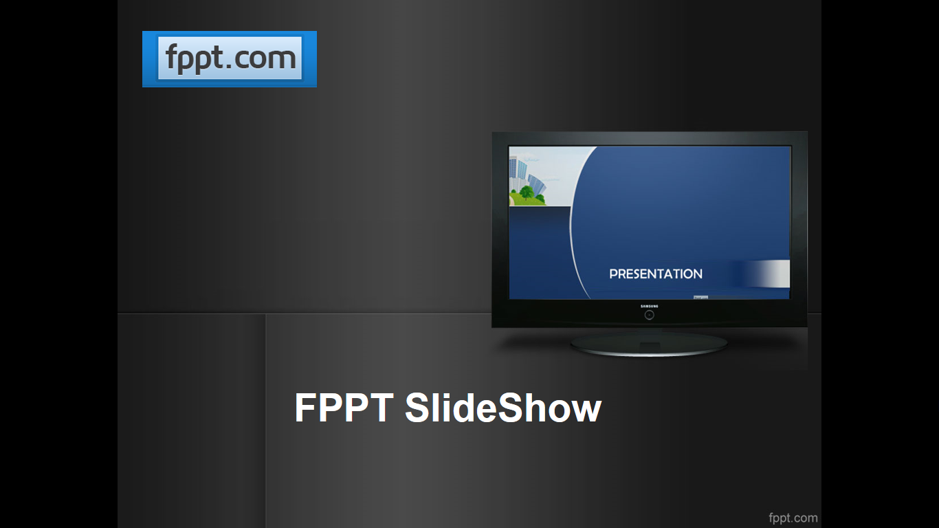 powerpoint digital signage for leds fppt