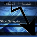 slide navigator template menus