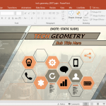 animated geometry powerpoint template