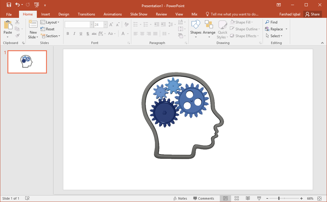 brain outline clipart
