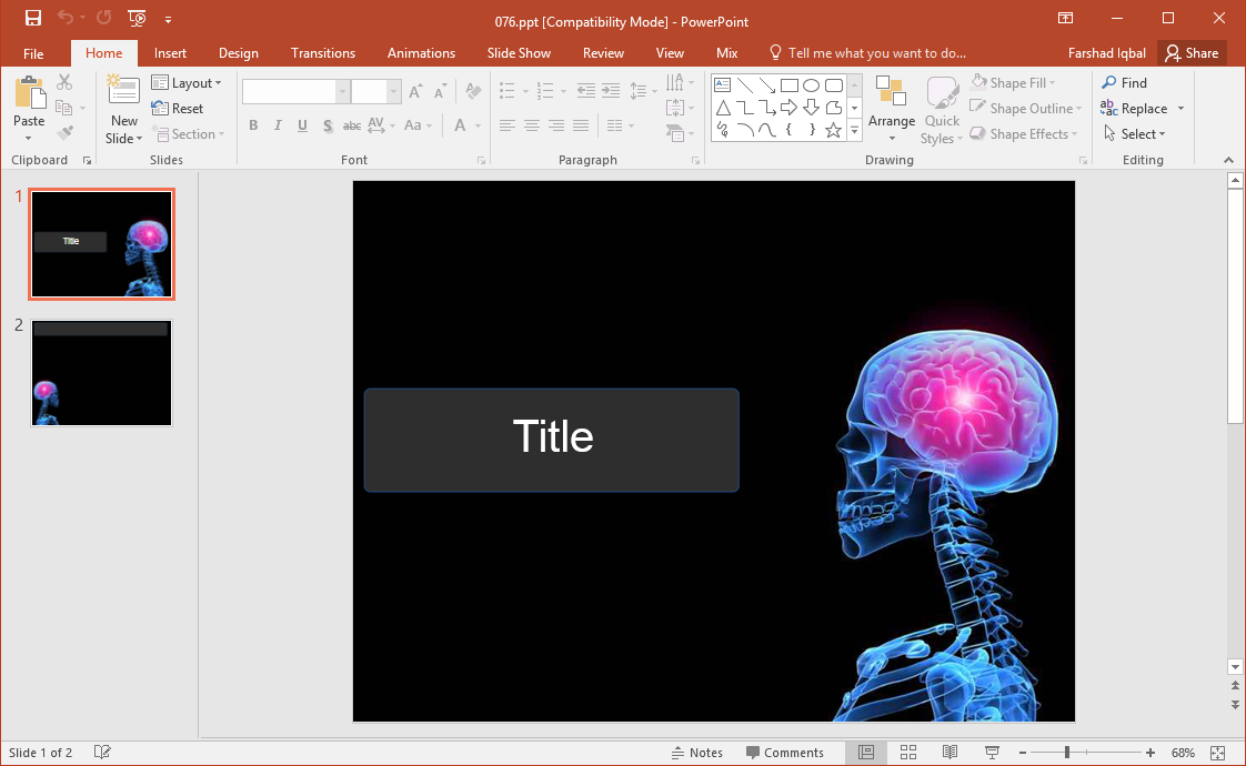 Best Brain Clipart Graphics For Powerpoint