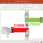 Animated Pros and Cons PowerPoint Template
