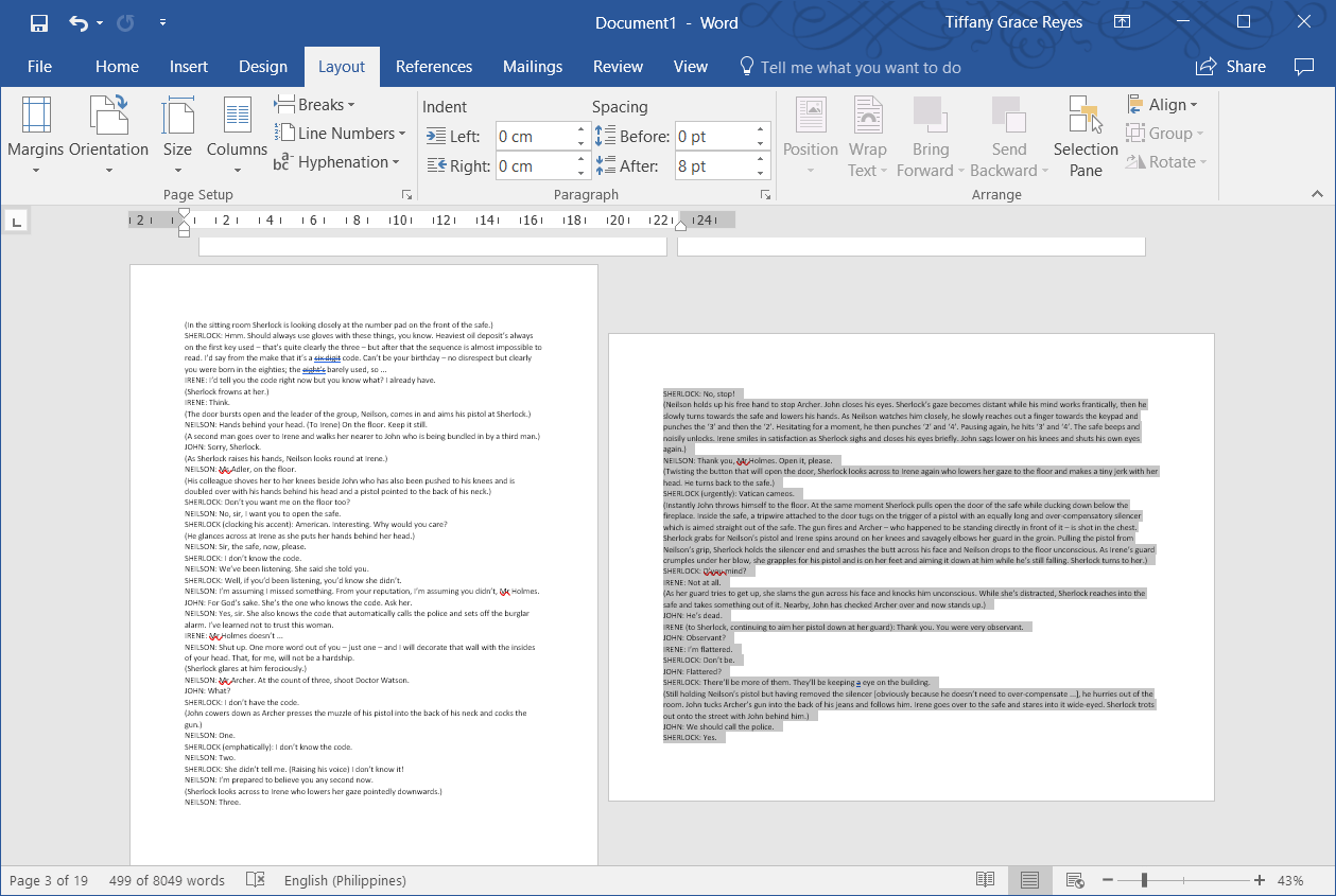 How To Change Page Orientation For A Single Page In Word