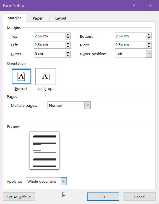 change-orientation-of-selected-text-in-document