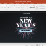 Bright New Year PowerPoint Template