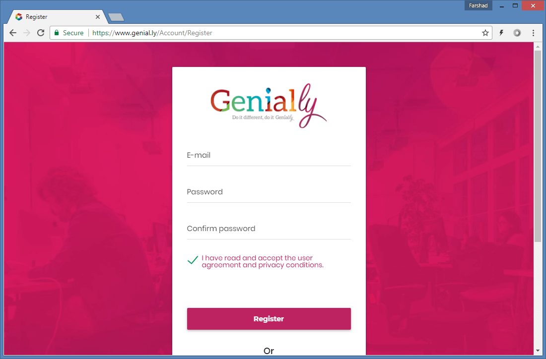 Login to Genially