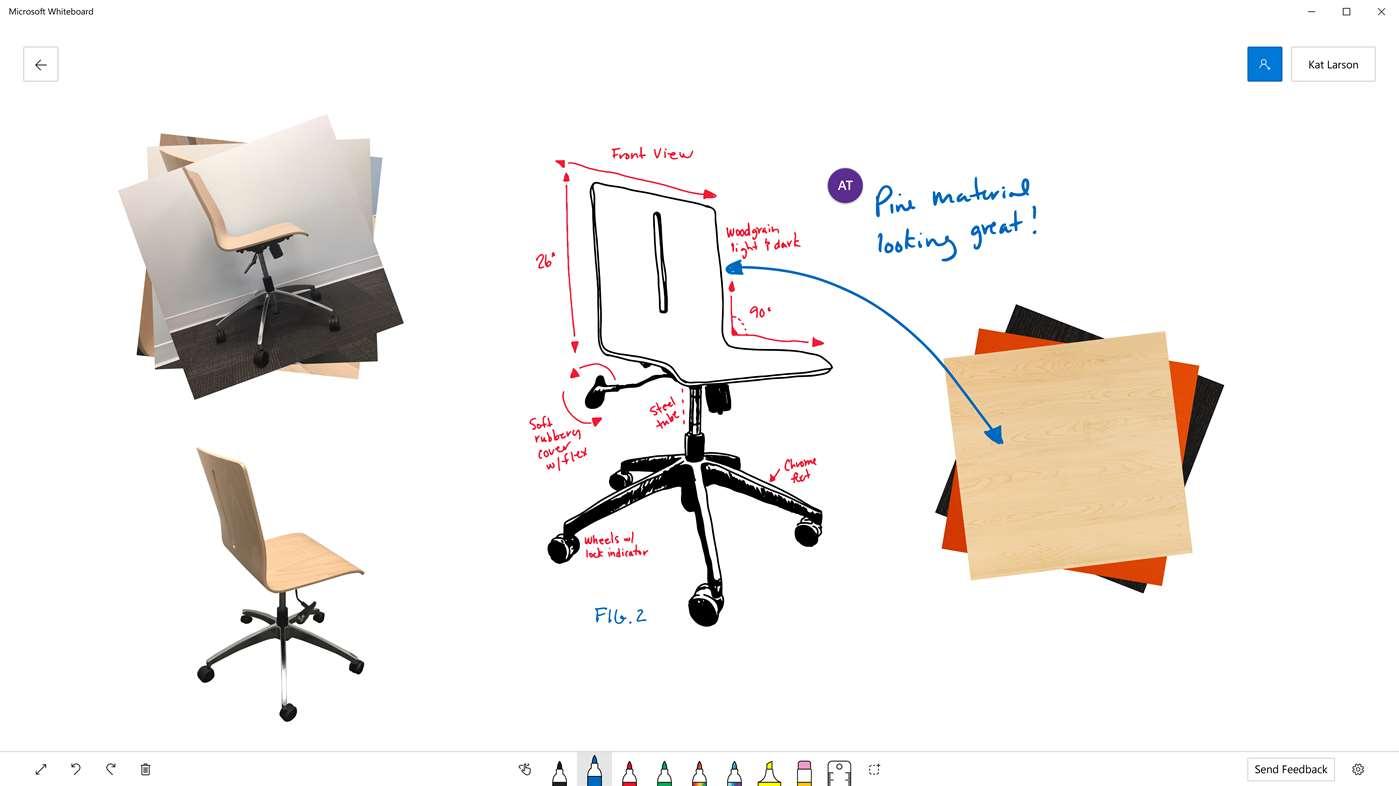 Whiteboard app by Microsoft