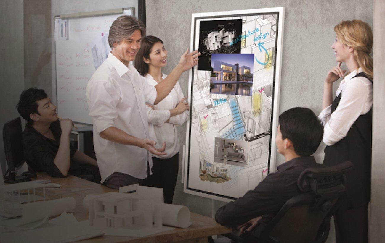 Samsung Flip for Interactive Meetings
