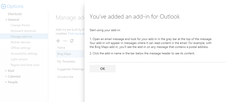 add-in-for-outlook-installed