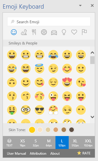How to install a set of Emojis in Word and PowerPoint