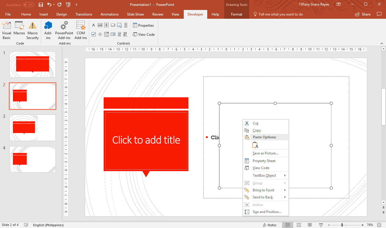 How to Add Text to a Live PowerPoint Presentation