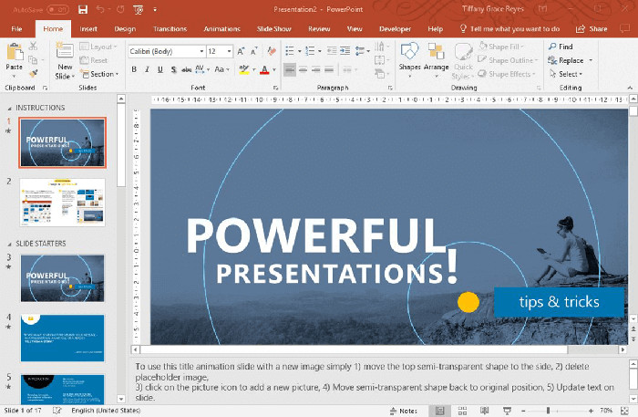 Download This Office Powerpoint Template For Making Powerful