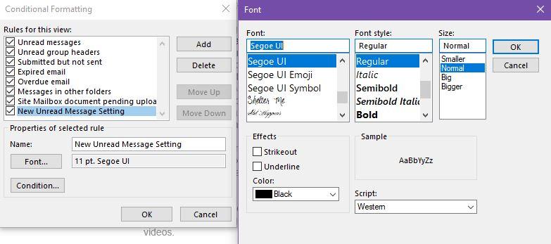 change-font-settings