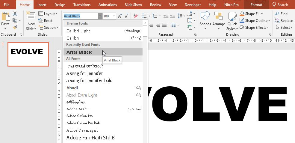 choose-big-clear-fonts - FPPT