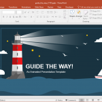 Animated Guide the Way PowerPoint Template