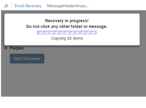 Recovery Emails and Folders in a Flash