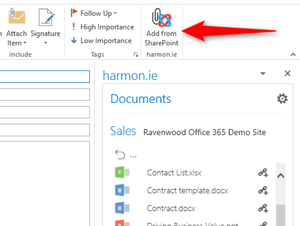 Add-Files-from-SharePoint-Right-within-Outlook
