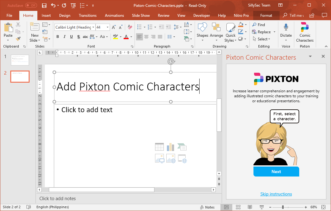 Create-Your-Own-Comic-Characters-with-Pixton