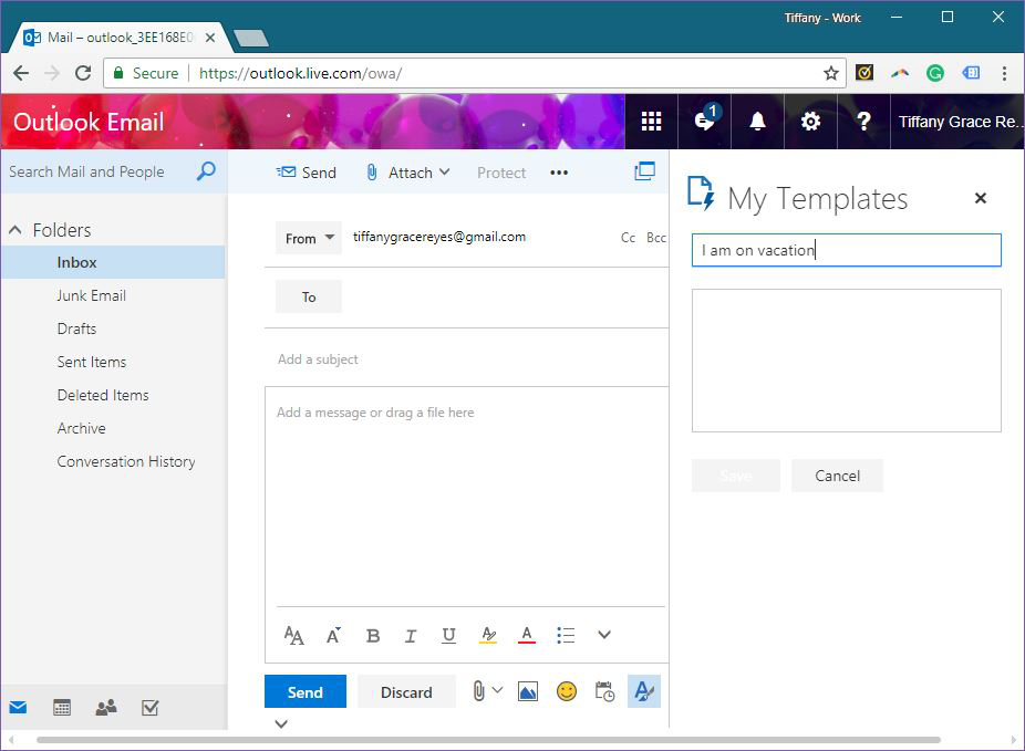 Template Phrases Add-in for Outlook