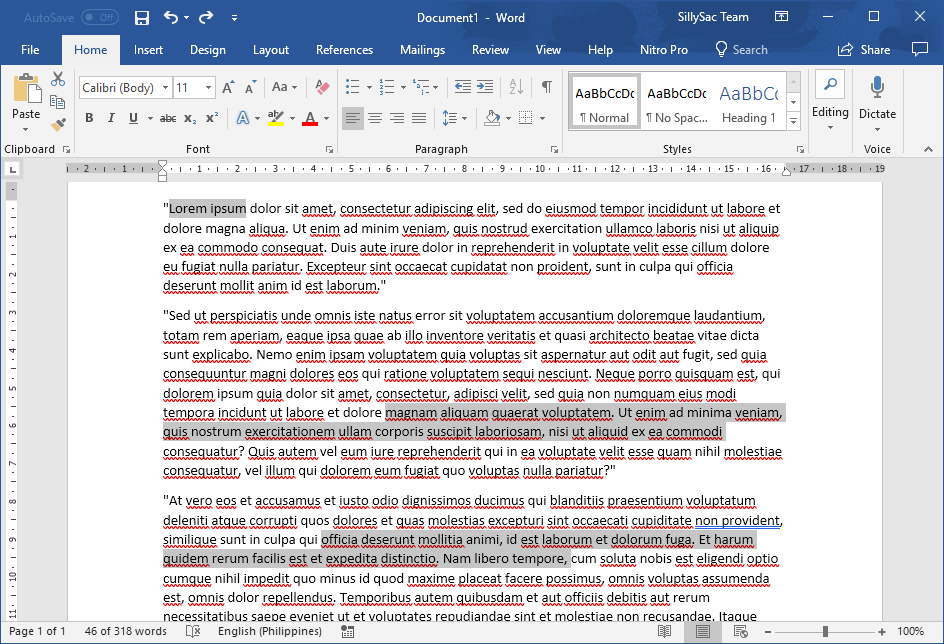 Tips for Working Faster in Word