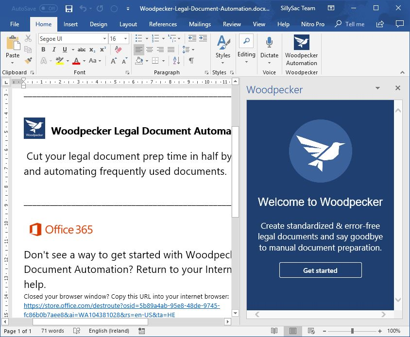 standardize-legal-documents-with-woodpecker-in-word