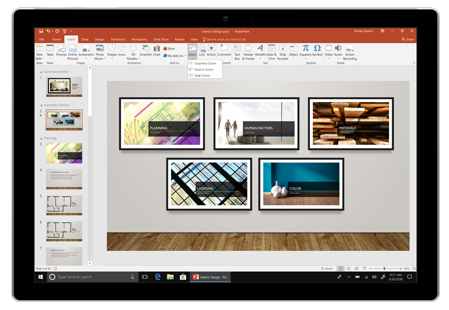 new features of office 2019