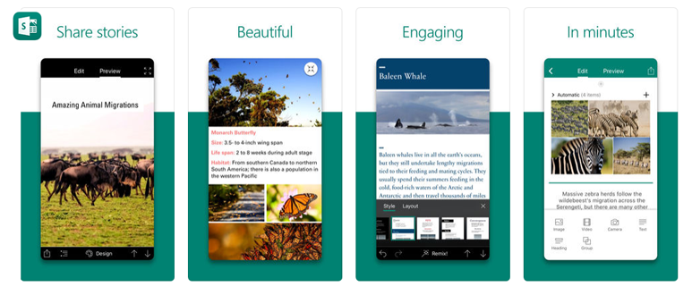 Sway for iPhone and iPad