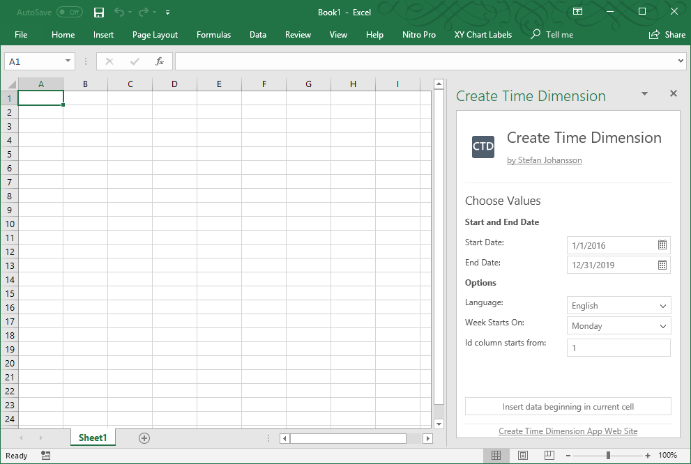 Create-Time-Dimension-Tables-in-Excel
