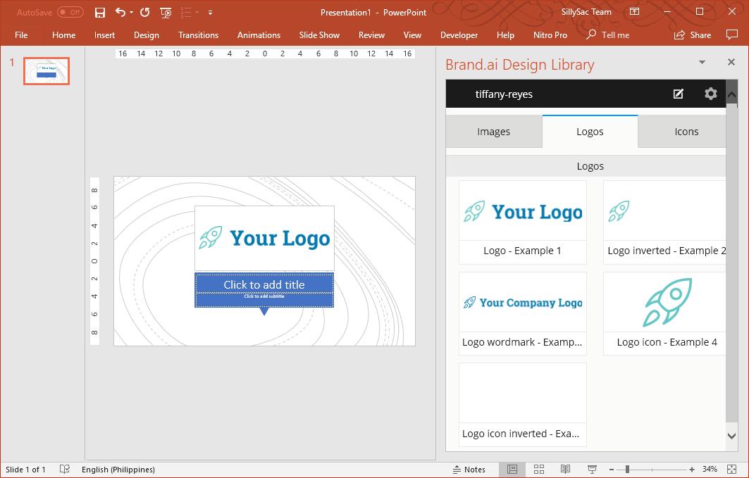 Brand Slides in PowerPoint