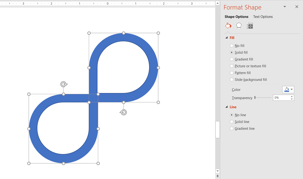 How To Create An Infinity Symbol In Powerpoint