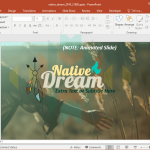 Animated Native American Culture PowerPoint Template