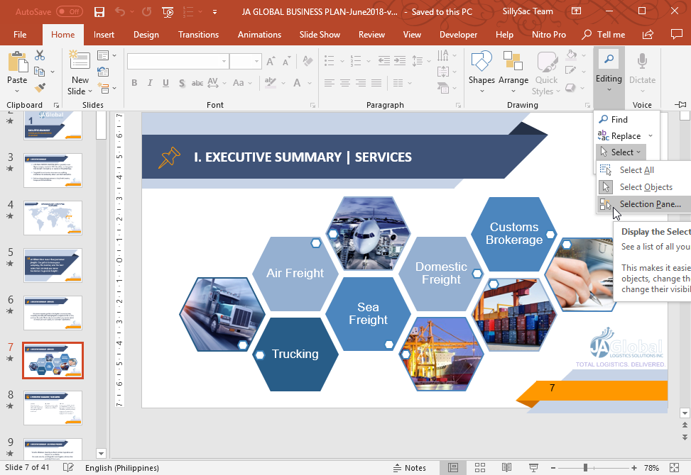 How to Work in PowerPoint with Layers
