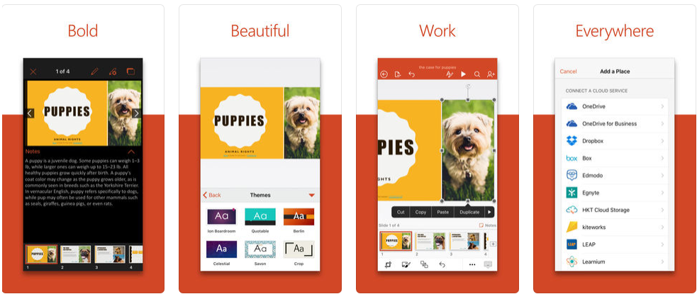 PowerPoint for iPhone