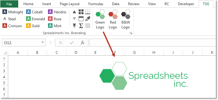 mrBrand Add-in for Excel