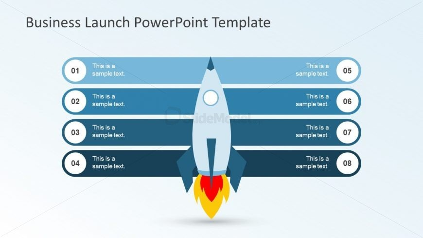 Rocket Business Launch Presentation template